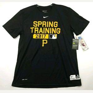 The Nike Tee Athletic Cut Black Dri-Fit Shirt